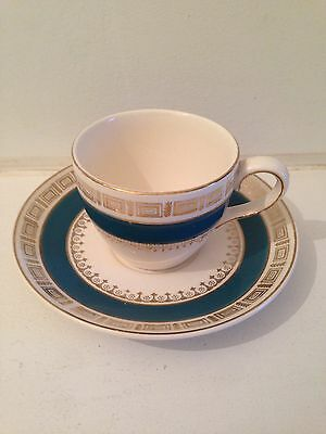 Crown Ducal Chatsworth Coffee Cup And Saucer