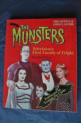 """The Munsters """"Official Ghoul Guide"""" Televisions First Family Of Fright"""