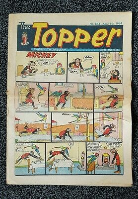 THE TOPPER Comic - Issue No 844 - Date 05/04/1969 - UK Paper Comic