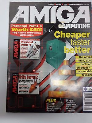 Amiga Computing Magazine Issue 89 - August 1995 - No Free Disc