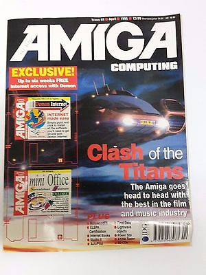 Amiga Computing Magazine Issue 85 - April 1995 - No Free Disc