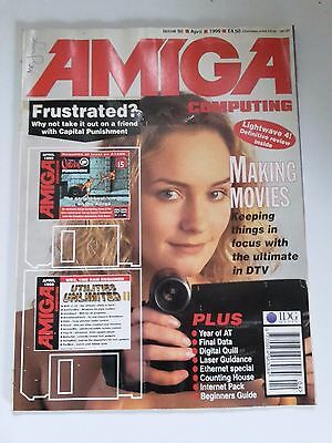Amiga Computing Magazine Issue 98 - April 1996 - No Free Disc