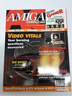 Amiga Computing Magazine Issue 47 - April 1992 - No Free Disc