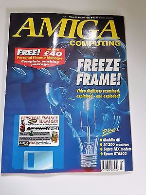 Amiga Computing Magazine Issue 59 - April 1993 - No Free Disc