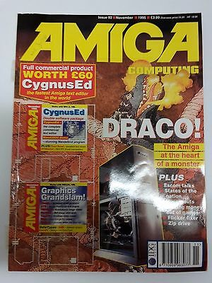 Amiga Computing Magazine Issue 92 - November 1995 - No Free Disc