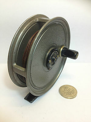 Vintage J W Young & Sons Pridex Trout Fly Fishing Reel  3.5""