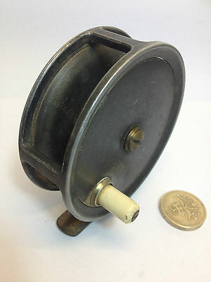 Early Vintage CUMMINS BISHOP AUKLAND TROUT FLY FISHING REEL 3""