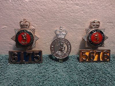 3 Obsolete Kent County Constabulary Badges UK
