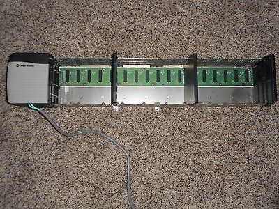 Allen Bradley 17 Slot Rack 1756-A17 W/ Power Supply 1756-Pa72/b 97060574 Co1