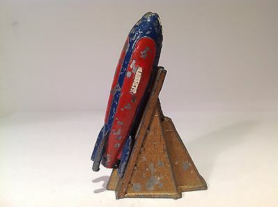 Vintage Cherilea, Rocket Ship And Launch Pad. (Ref Or 585) Journey Into Space