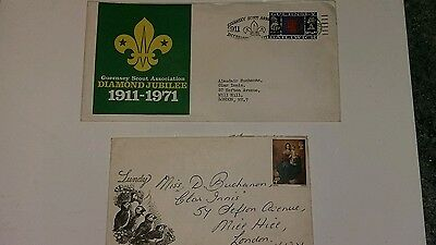 A Pair Of Commemorative Covers From Guernsey And Lundy Island.