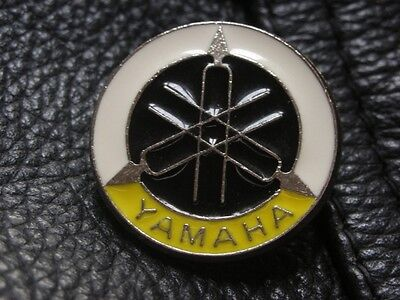 Yamaha Motorcycle Enamel Motorbike Bike Jacket Pin Badge