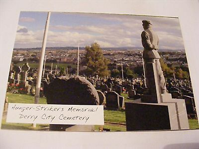 DERRY REVOLUTIONARY POSTCARD HUNGER  STRIKE MEMORIAL Creggan Irish Republican