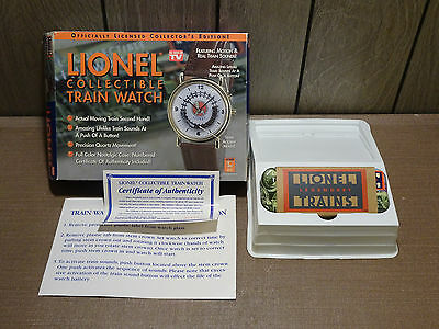 Lionel Collectible Train Watch Complete in Box, in Great Condition