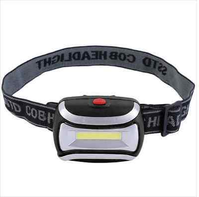 COB 3 mode 400 lumen LED Head Torch Ideal EDC for Hiking Bushcraft And Survival