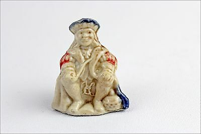 Vintage Wade Whimsies Nursery Rhyme Old King Cole Porcelain Figurine Collectable