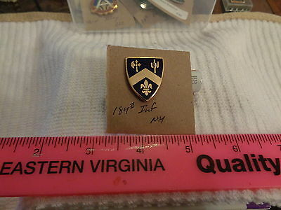 184th Infantry NH Unit Crest, DI, DUI (DRAW#S14)