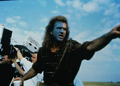 "MEL GIBSON in ""Braveheart"" - Original 35mm COLOR PORTRAIT Slide - 1995"