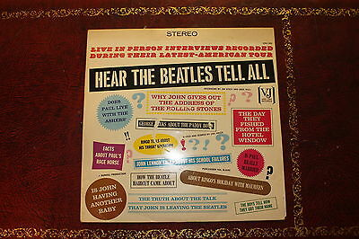 The Beatles Hear Them Tell All Lp Record