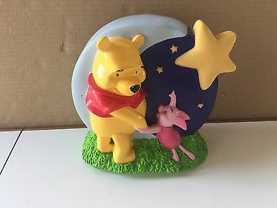 Winnie The Pooh, Piglet Moonscape Coin Bank - Sound, Light Not Working