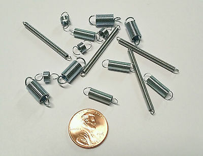 Micro / Mini Small Extension Springs  - Set of 16