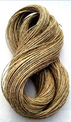 1m-1000m 1/2/3 ply Natural Brown Soft Jute Twine Sisal String Rustic Shabby Cord