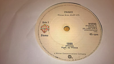 "Prince - 1999 - Irish Press 7"" Ireland 1982"
