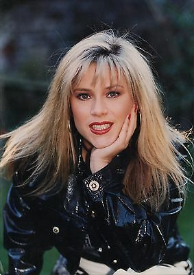 SAMANTHA FOX - English Actress/Singer - Original Vintage COLOR PORTRAIT Photo