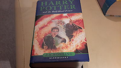 Harry Potter and the Half-blood Prince: 1st edition