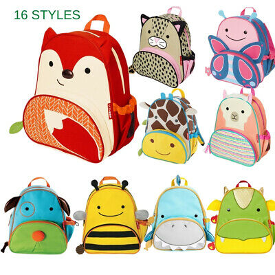 Skip Hop Zoo Packs Little Kid Backpacks Bunny Fox Hedgehog Pig Dalmatian Unicorn