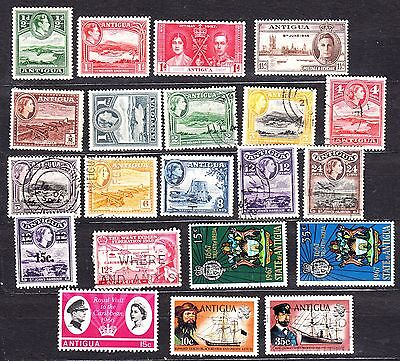 Antigua Mint Used Selection From Early
