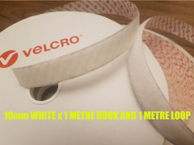 VELCRO® Brand PS14 Self Adhesive Hook and loop Sticky Backed tape fastener 10mm