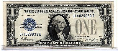 1928 A (Fr1601) One Dollar Silver Certificate Funny Back Vg