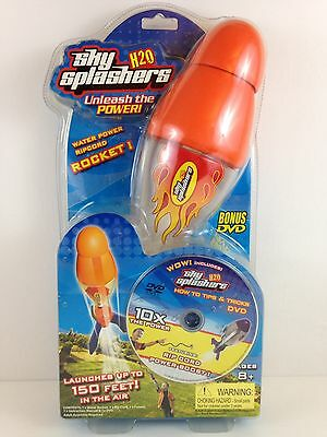 Sky Splashers H2O Water Powered Rocket with DVD Outdoor Water Toy