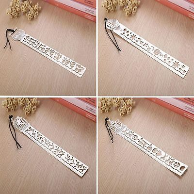 Ultra-thin Fairy Tale Creative Rulers World Bookmark Metal Tale