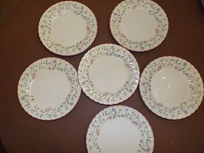 Johnson Brothers summer chintz  6 x dessert plates