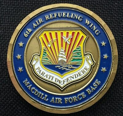 6th ARW Air Refueling Wing MacDill Challenge Coin