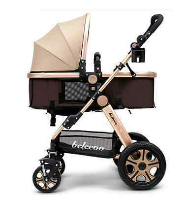 Belecoo 3in1 baby stroller Luxuries