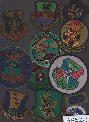 Lot Of Air Force  Military Patches (Af520