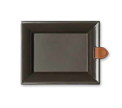 Bnib Hermes Chakor Change Tray Pm Size In Etoupe Color With Leather Strap