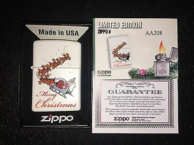 Zippo Merry Christmas - Rare Limited Edition For Portugal