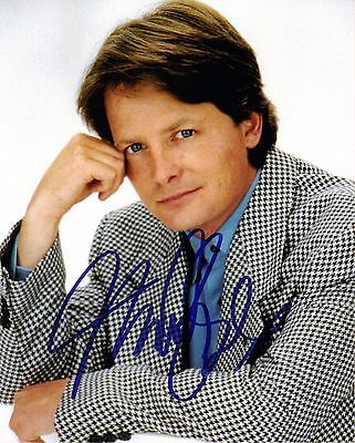 Michael J Fox, Back To The Future Genuine Hand Signed 10x8 Photo, Comes With COA