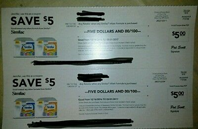 similac coupons 10$ worth. Exp 03/21/2017