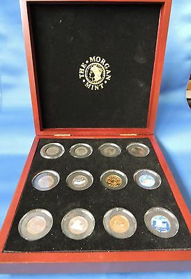 2004 Usa - The Ultimate Nickel Collection - 12 Coins Genuine Legal Tender In Box