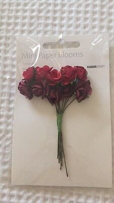 Kaiser Craft Mini Paper Blooms Bulk