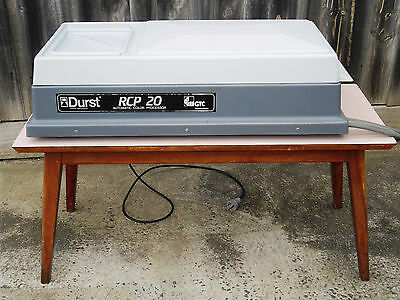 Durst RCP20 portable roller transport paper processor (Melb)