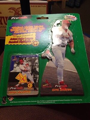 Pro talk Series Two Mark McGwire St. Louis Cardinals 1999