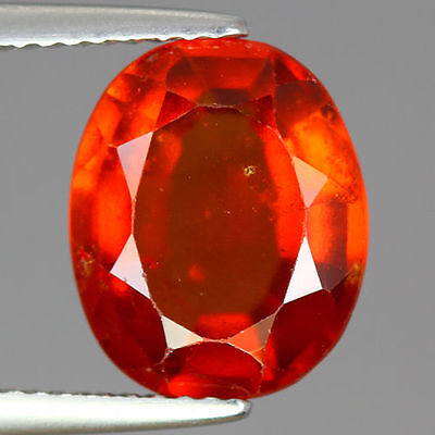 5.135 Cts  Amazing Rare Unique Beautiful Natural Superb Hessonite Garnet Nr!!!!