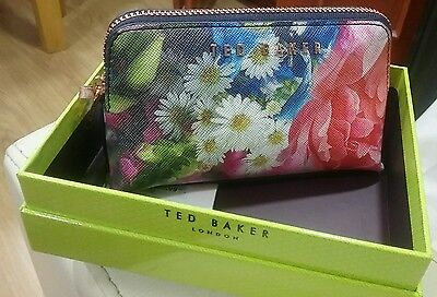 Ted Baker Alliss Focus Bouquet Make Up Bag Bnwt And Box