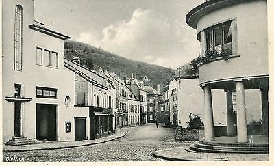 Luxembourg Diekirch - Street old real photo postcard